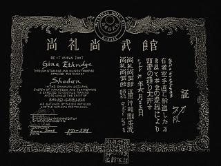 My Shodan certificate