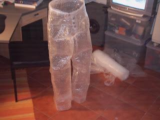 Bubblewrap pants
