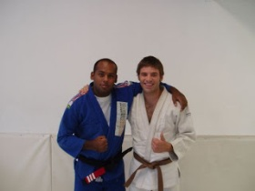 Mauricio 'Tinguinha' Mariano & Greg Lawson