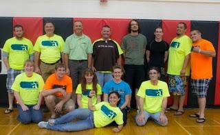 CSG volunteer crew