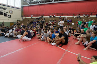 CSG Jiu-Jitsu competitors