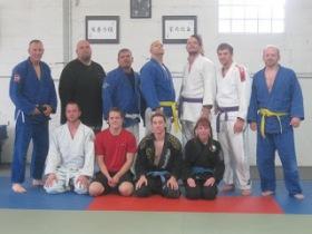 Jiu-Jitsu class