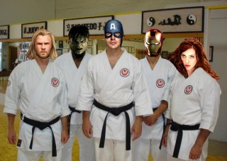 I train with The Avengers!
