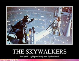 The Skywalkers: And you thought your family was dysfunctional
