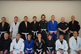 Lincoln Brazilian Jiu-Jitsu: advanced class, day one