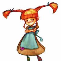 Ginger Longstocking