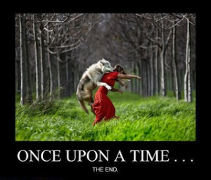 Don't let the Big Bad Wolf take your back!