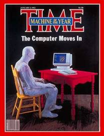 "1982 Time Magazine ""Machine of the Year"" -The Computer"
