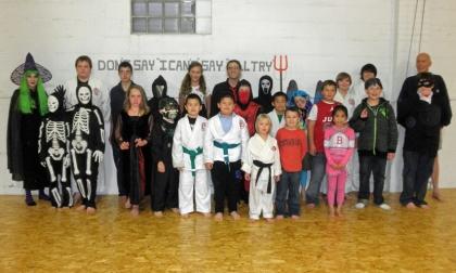 Halloween kids' class