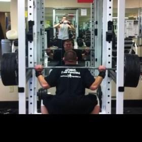 Ray droppin' it like a squat!