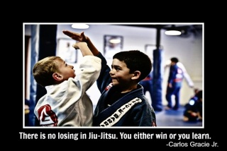 """There is no losing in Jiu-Jitsu. You either win or you learn."" -Carlos Gracie Jr."