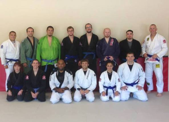 Lincoln BJJ blue belts