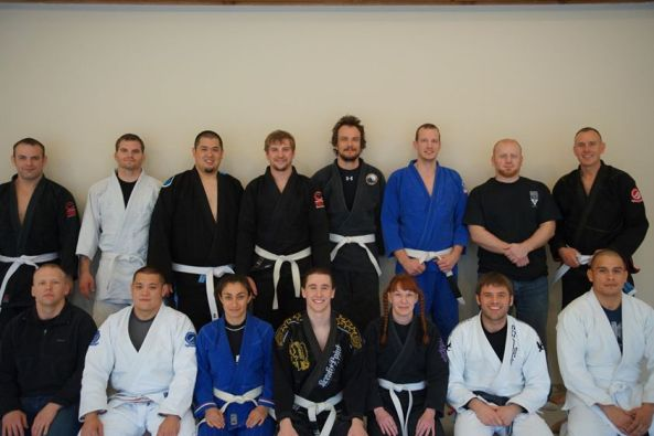 First day at Lincoln BJJ