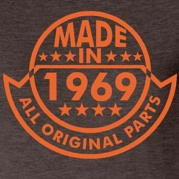 Made in 1969, all original parts
