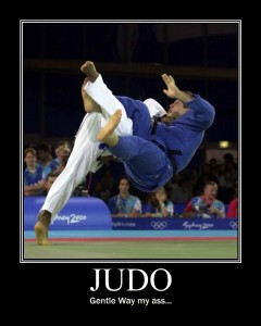 Judo: Gentle Way, my ass...