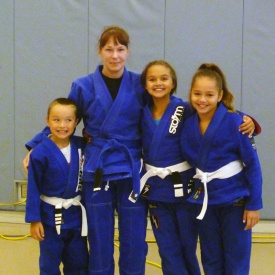 Me and the kids from Lincoln BJJ who competed