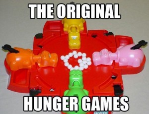 Hungry hyngry hippos: The original hunger games