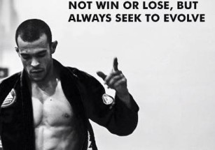 Not win or lose, but always seek to evolve.