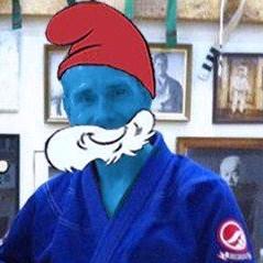 Papa Smurf Conan