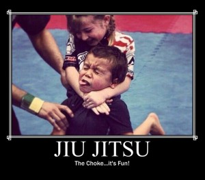 Jiu-Jitsu: The choke...it's fun!