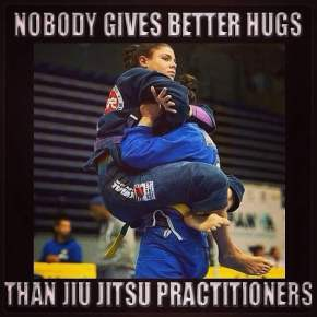 Nobody gives better hugs than Jiu-Jitsu practitioners!