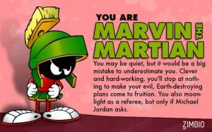 I am Marvin the Martian