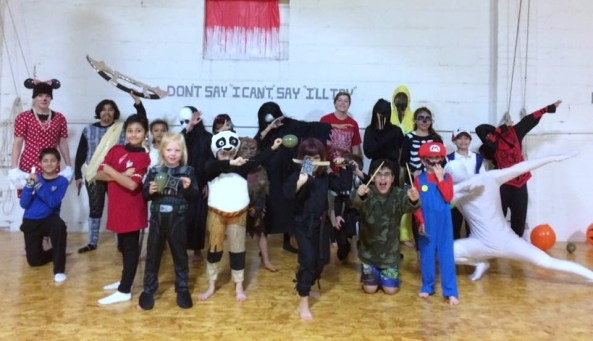 LMAC dojo halloween party 2016